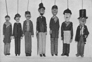 Liège, marionnettes