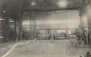 Seraing, laminoirs à rails aux aciéries Cockerill