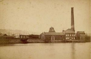 Liège, charbonnage de Marihaye, vers 1880