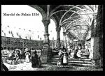 Liège, le marché dans la cour du palais