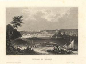 Liège, vers 1840