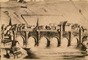 Liège, le Pont des Arches