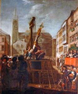 Perron Liégeois, 1478 (Musée d'Ansembourg)