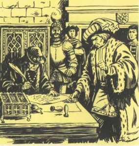 Louis XI et Charles de Bourgogne à Peronne