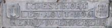 Commémoration en Féronstrée, no 6