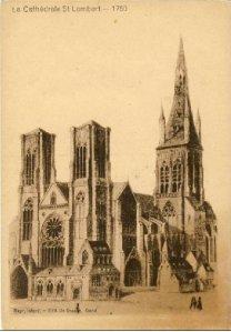 Cathédrale St-Lambert de Liège vers 1750