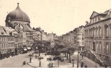 Liège, Hotel de Ville et Perron