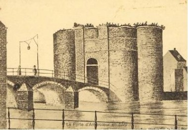 Liège, la porte d'Amercoeur, vers 1770