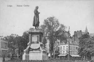 Liège, la statue de Grétry