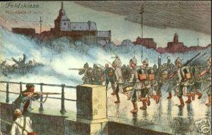 Liège, la guerre en 1914