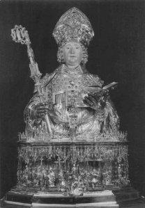 Liege, le buste reliquaire de St-Lambert
