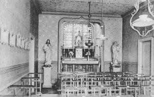 Liège, boulevard d\'Avroy, oeuvre des retraites chapelle
