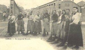 Liège, corps de balais