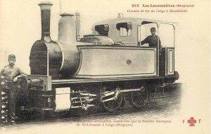locomotive de St-Léonard pour la ligne Liège-Maastricht