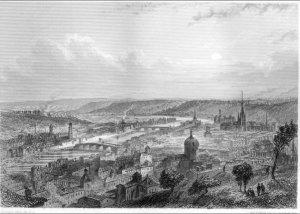 Liège, panorama