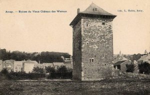 Amay, ruine du vieux château des Waroux