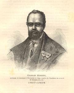 Charles Morren, découvreur de la fécondation art. de la vanille à Liege