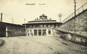 Liège, la gare d\'Angleur