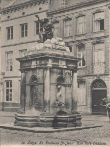 Fontaine St-Jean, rue Hors-Château, Liège