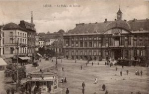 Liège, le palais de justice