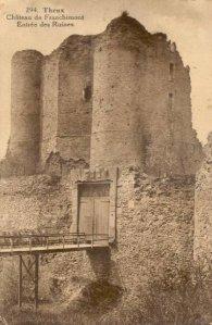les ruines du Château de Franchimont à Theux