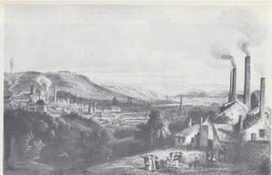 Liège, houillère La Haye, vers 1840