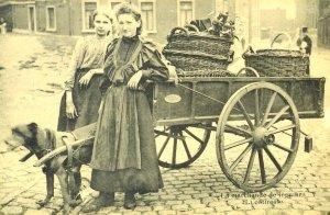 Liège, marchande de legumes