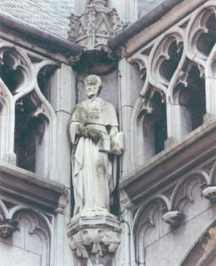 Liège, le prince-évêque Gérard de Groesbeeck, palais provincial