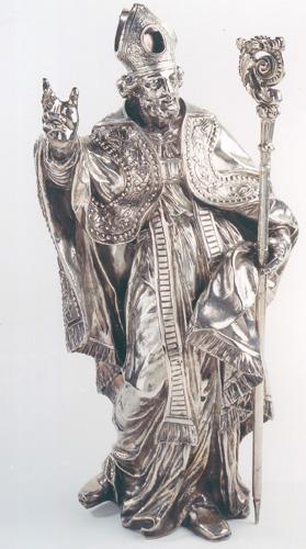 Liège, statue-reliquaire de St-Adalbert