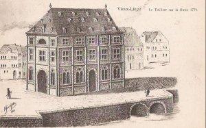Liége, théatre sur la Batte vers 1779
