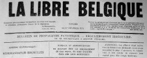 La Libre Belgique, guerre 14-18