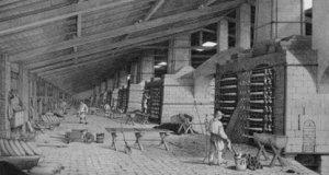 Liège, usine de zinc de St-Léonard