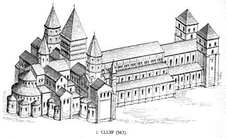 l'abbatiale Cluny III, Hézelon de Liège